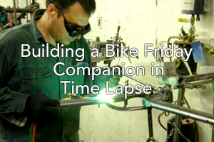 Building a Bike Friday Companion in Time Lapse